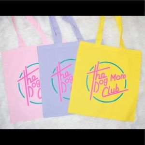 Handbags - Dog Mom Club Tote Bag